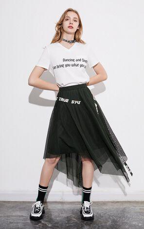 純棉印花休閒短袖T恤