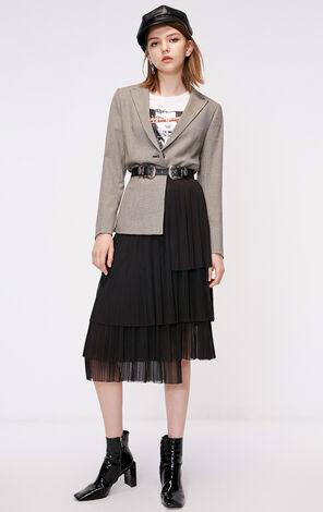 冬季新款一粒扣休閒西服外套女|118308525