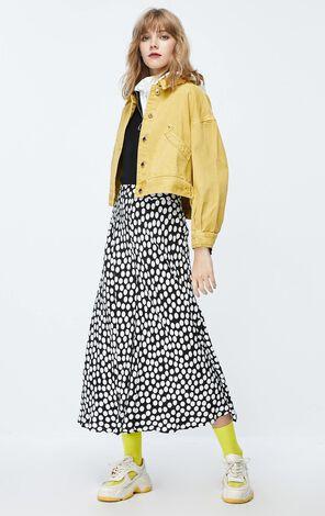 ONLY2019秋季新款寬鬆短版牛仔外套|119354514