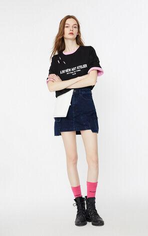 時尚字母印花短袖T恤