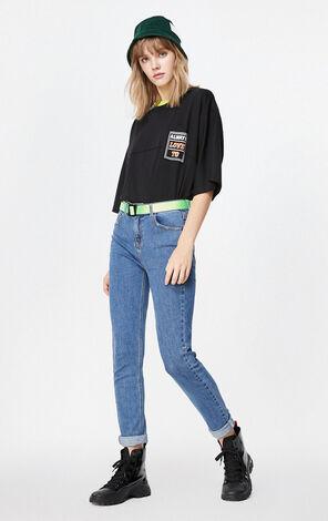 ONLY2019秋季新款合身顯瘦牛仔褲|119332506