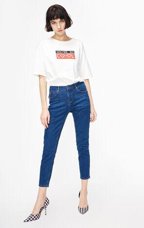ONLY2019春季新款chic緊身顯瘦九分牛仔褲