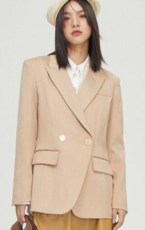 時尚簡約通勤風西裝外套