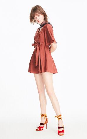 ONLY2019夏季新款A字系帶收腰洋裝|119207561