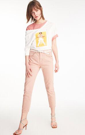 ONLY2019夏季新款低腰寬鬆直筒九分牛仔褲|119249507