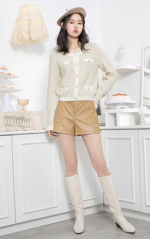 【春季新款】甜美簡約開衫毛針織外套