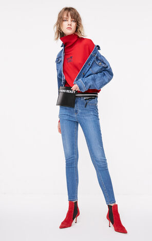 ONLY2019春季新款合身顯瘦彈力牛仔褲 119132533