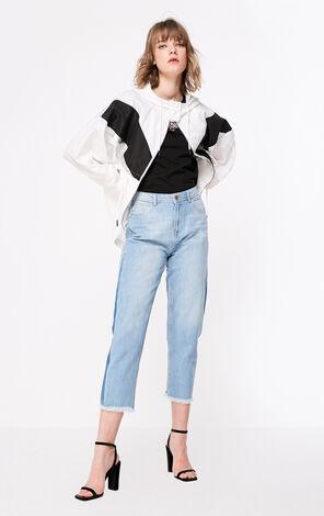 ONLY2019春夏新款寬鬆直筒九分牛仔褲|119149646