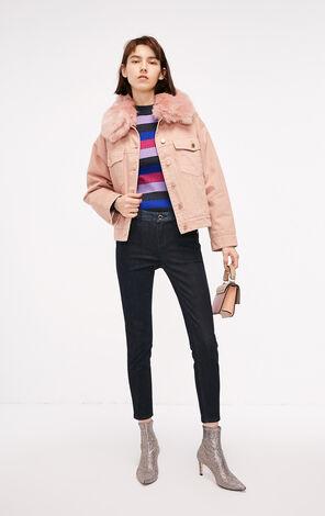 冬季新款低腰緊身九分牛仔褲女|118449510