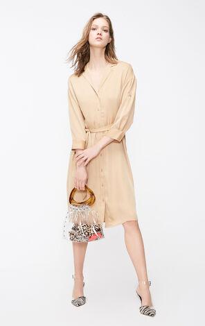 ONLY2019夏季新款襯衫雪紡洋裝|119107726