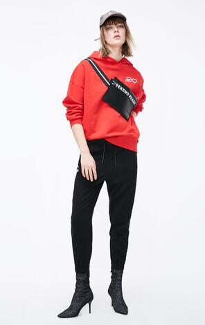ONLY2019春季新款男孩風印圖連帽衛衣|11919S550