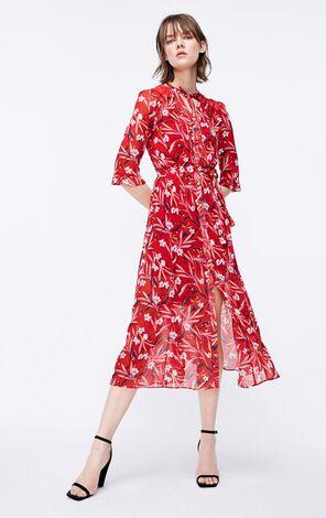ONLY2019夏季新款蕾絲套裝雪紡洋裝|119107609