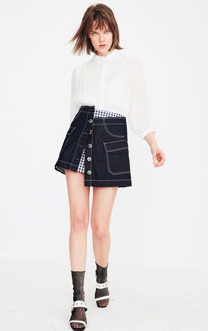 ONLY2019夏季新款寬鬆長袖襯衫|119131510