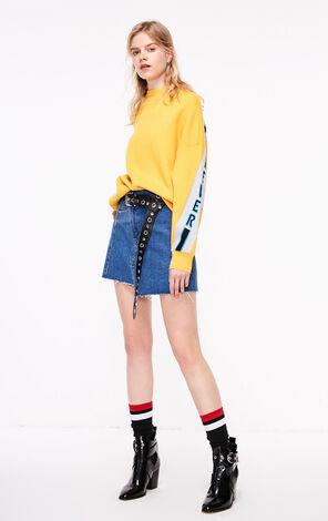 ONLY2019春季新款潮流感字母寬鬆套頭針織上衣|119113518
